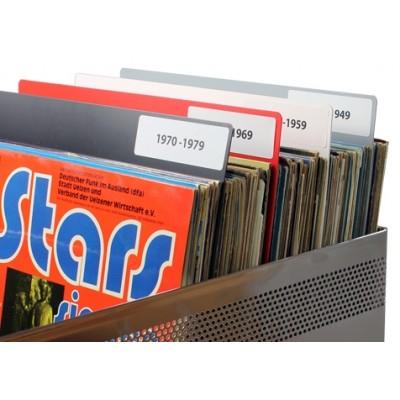 Rigid separators vinyls