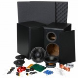 "Dayton Audio BR-1 6-1/2"" - Kit completo di Cabinet COPPIA"