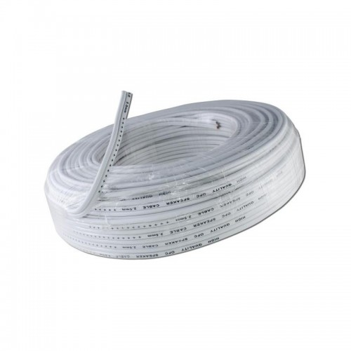 Speaker Cable OFC 2x1.5mm² - White
