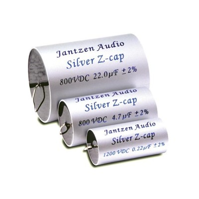 Jantzen Z-Silver MKP Capacitors 800/1200V 2%