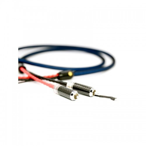 Viborg Audio LC801 - RCA Phono Cable - Silver and Rhodium Plated 1.2 mt